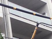 電線 防護官カバー設置